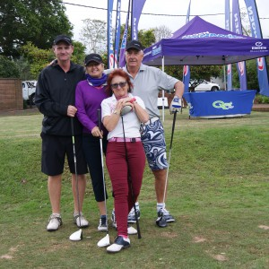 Neil Stratton's Fourball team (Chairman of the Kloof Country Club)