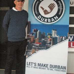 Derek Mayo, Operations Manager of We are Durban